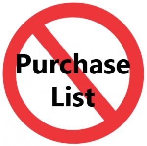 Email Marketing Best Practices – don't purchase a list. Ever.